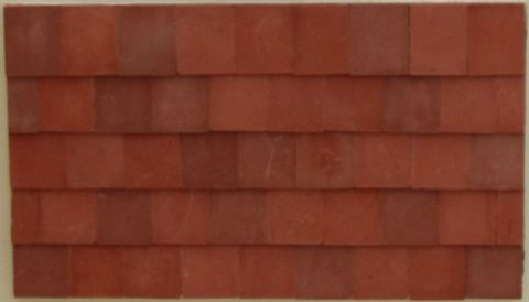 Traditional Roof Tiles - Small - Dolls House - 1/24th Scale.